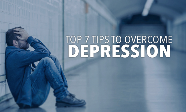 7 Tips In Overcoming Depression