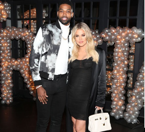Image result for Tristan Thompson & Khloé Kardashian
