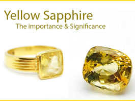 Significance of yellow sapphire