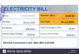 electric bills
